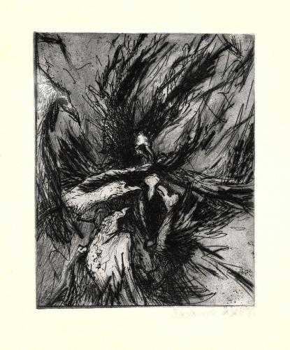 Bemalter Vogel 1a